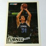 1993-94 Fleer Orlando Magic Basketball Card #154 Jeff Turner